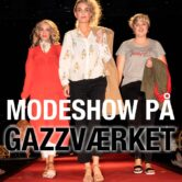 Modeshow på Gazzværket